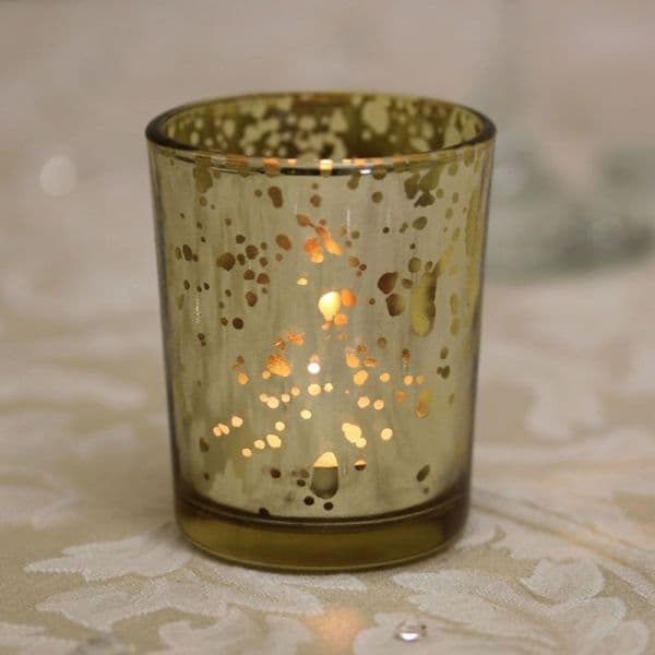 Speckled Votive (Gold, Red or Silver)